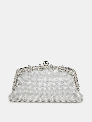 Women Rhinestones Cocktail Party Clutches Bag