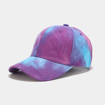 Tie-dye Baseball Cap Fashion Leisure Shade Hat