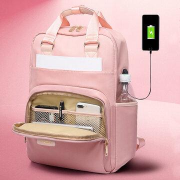 Women Waterproof Multifunction Backpack