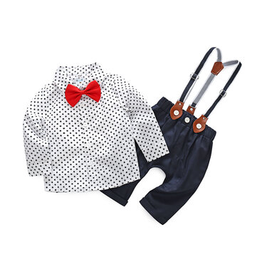 2Pcs Formal Boys Suits Sets For 0-24M