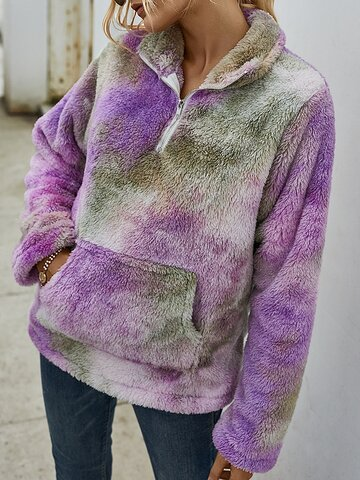 Multi-color Tie-dyed Sweatshirt