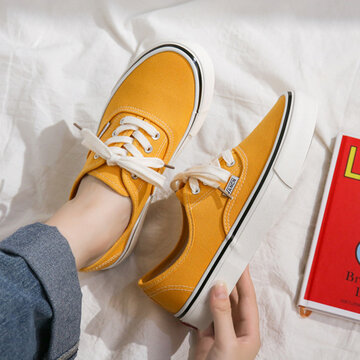 Large Size Women Canvas Sneakers