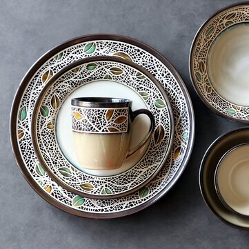 European Retro Ceramic Tableware