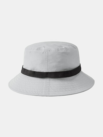 Automatic Buckle Fisherman Hat Breathable Collapsible