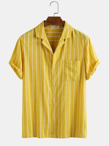 100% Cotton Stripe Shirt