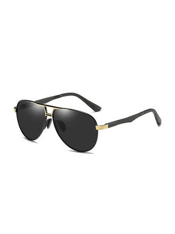 Anti-UV Anti-glare Polarized Frog Mirror Driving Sunglasses