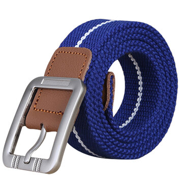 Belts for men Fashion Casual pin buckle canvas belt men rea