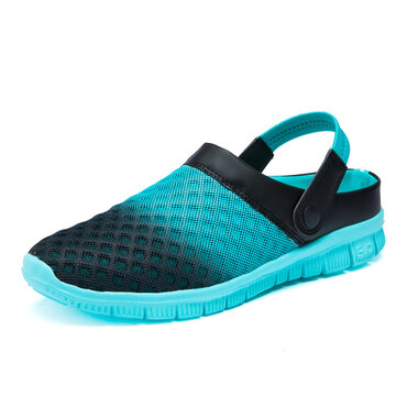 Men Mesh Breathable Casual Beach Sandals