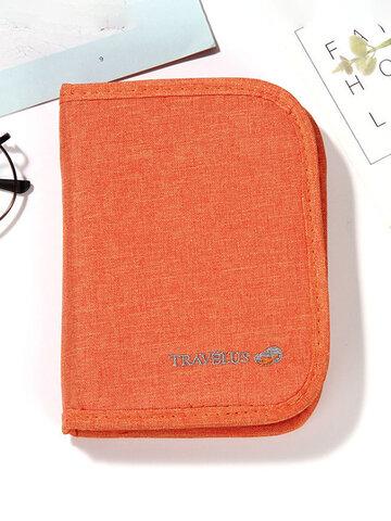 Minimalist Oxford Cloth Card Holder