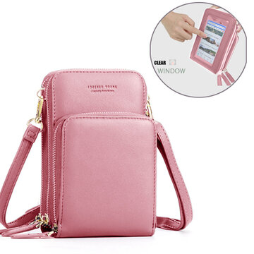 Women Touch Screen Bag RFID Blocking Handbag