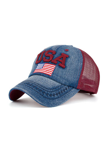 Chapeau de papa de drapeau américain, casquette de baseball patriotique