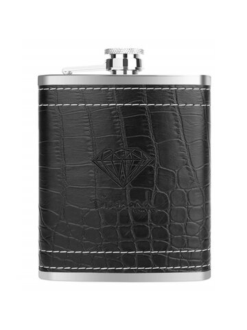 7oz Portable Stainless Steel Hip Flask Flagon Whiskey Wine Pot