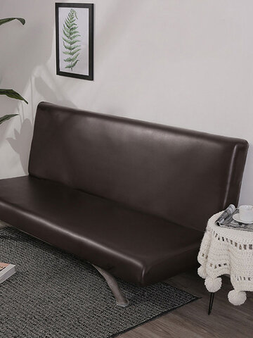 180x100cm Black Brown Gray Leather Sofa Cover