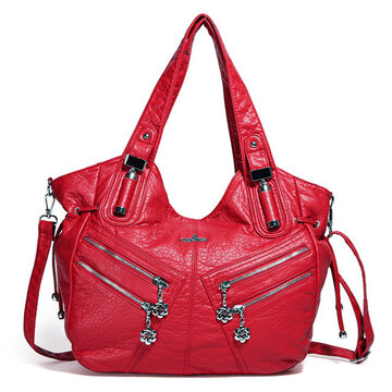 Women Solid Multi-carry Casual Crossbody Bag