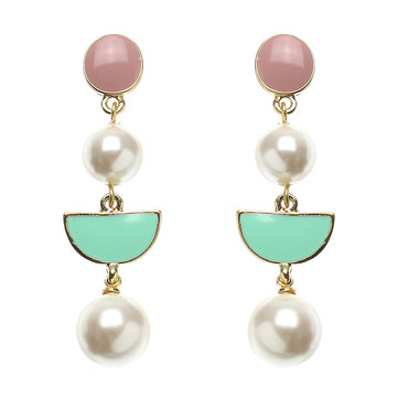 JASSY® Pearl Candy Color Earrings