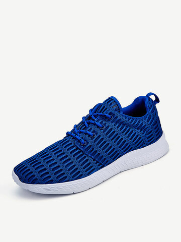 Men Fabric Breathable Sport Casual Sneakers