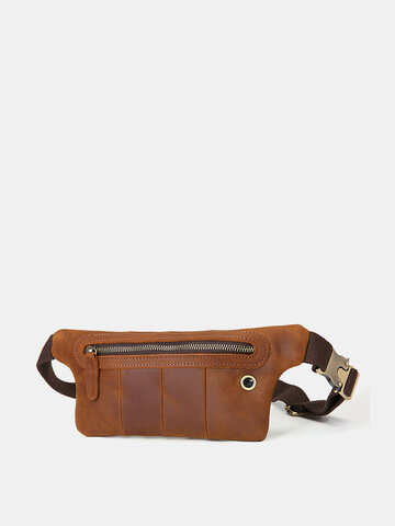 Cow Leather Vintage Multi-carry Crossbody Bag