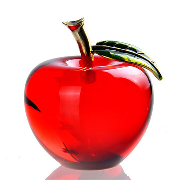 Christmas Glass Apple