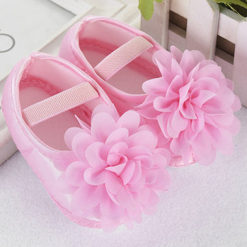Flower Girls Soft Shoes For 0-24M