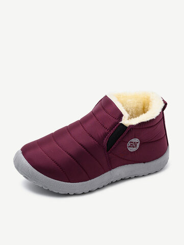 Waterproof Closed Toe Snow Boots