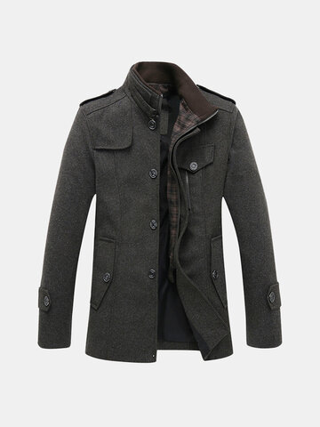 Winter Thick Warm Wool Jacket