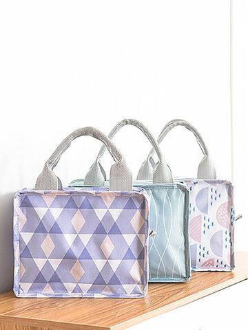 Square Zipper Insulation Bag