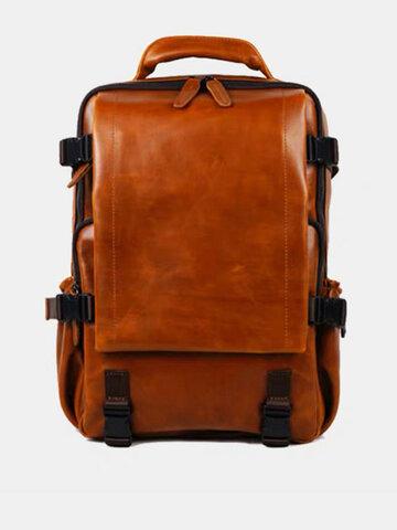 Retro Multifunction Anti-theft Backpack