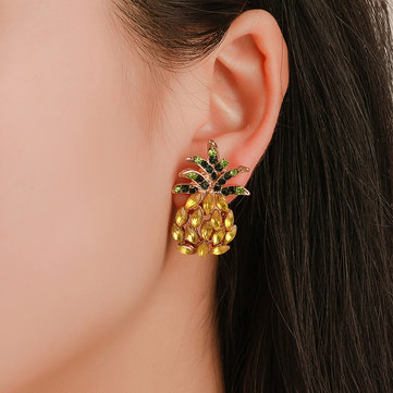 Sweet Pineapple Ear Stud