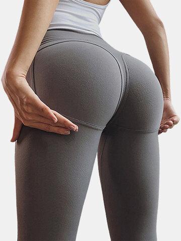 بنطلون ضيق Tiktok Hip Lift Sports Yoga