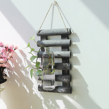 Wall Hanging Glass Vase Hydroponic