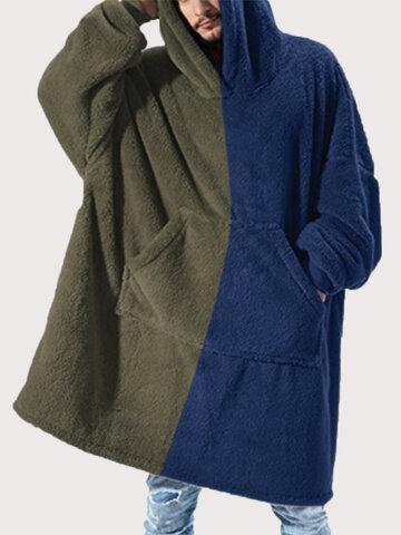 Patchwork Long Sleeve Loungewear