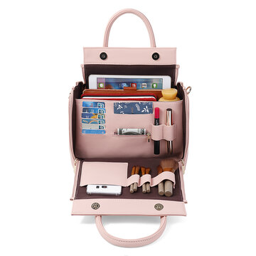 DREAME Women Solid Multifunction Casual Organiser Bag
