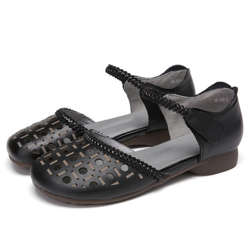 Ankle Strap D'orsay Flats Sandals