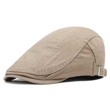 Adjustable  Cotton Beret Cap