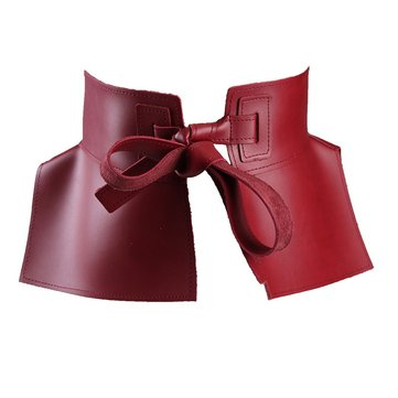 Women Dress Waist Belt High Waistband Bowknot