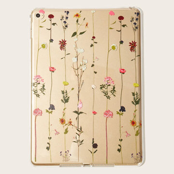 TPU Soft Cute Ipade Case With Beautiful Flower Pattern