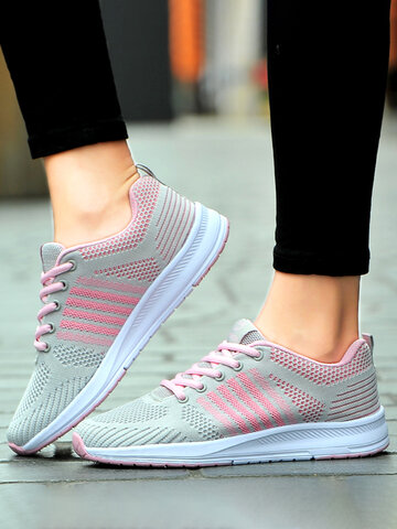 Lace Up Running Sneakers