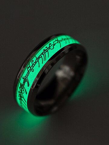 Trendy Luminous Finger Ring
