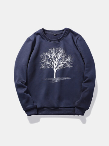 3D Tree Of Life Printed Bendy Stylish Sweatshirt