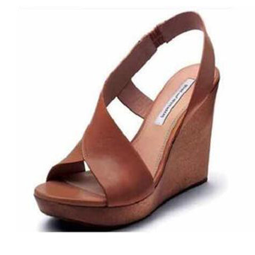 Open Side Wedges Sandals