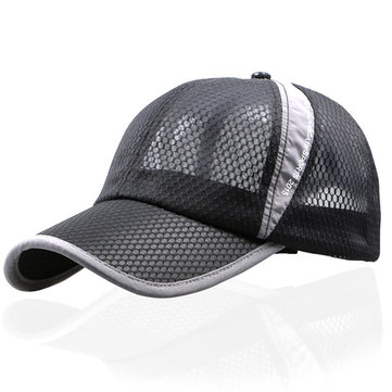 Outdoor Sports Breathable Mesh Baseball Caps