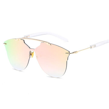 Thin Metal Frame Sunglasses Casual Outdoor Anti-UV