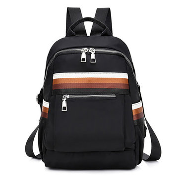Nylon Waterproof Casual Backpack