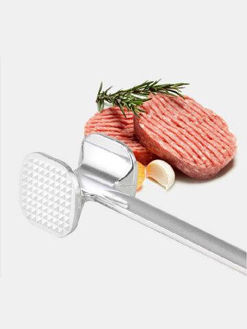 Aluminium Metal Meat Mallet Tenderizer Steak Beef Soften Pestle Pork Chicken Hammer Kitchen Tool