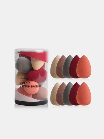10 Stück Mini-Make-up-Puff