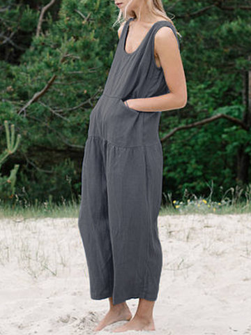Pocket Maternity Romper