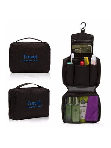 Travel Hanging Toiletry Wash Shower Bag