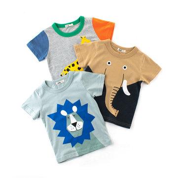 Camiseta de Bebê Modelo de Animal