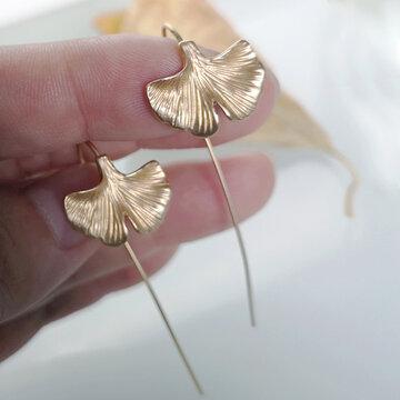 Ginkgo Leaf Earring