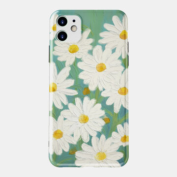 Small Daisy Phone Case Flower Phone Case for IPhone